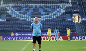 U23 Việt Nam tham quan sân Chang Arena