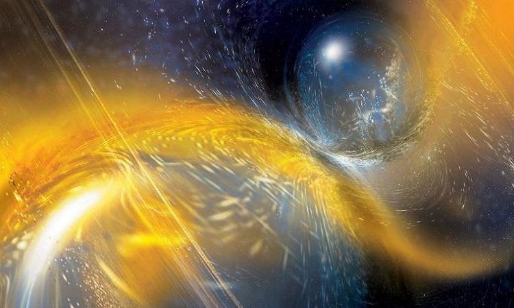 Vụ va chạm sao neutron cách 520 triệu năm ánh sáng