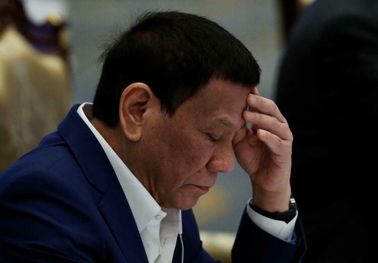 Tổng thống Philippines Rodrigo Duterte trong phiên họp tại Hội nghị thượng đỉnh ASEAN tại Bangkok, Thái Lan tháng 6/2019. Ảnh: Reuters.