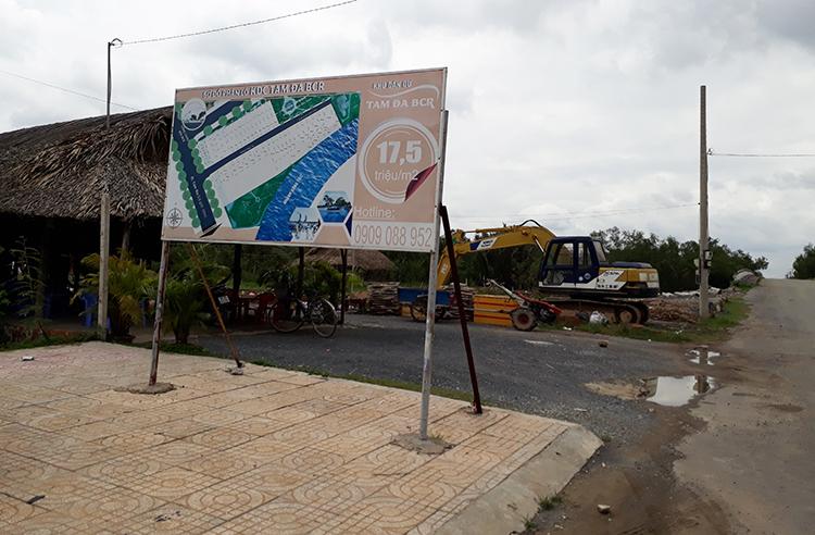 Sau hơn chục năm có chủ trương giao đất, dự án vẫn chưa được triển khai. Ảnh: Trung Sơn