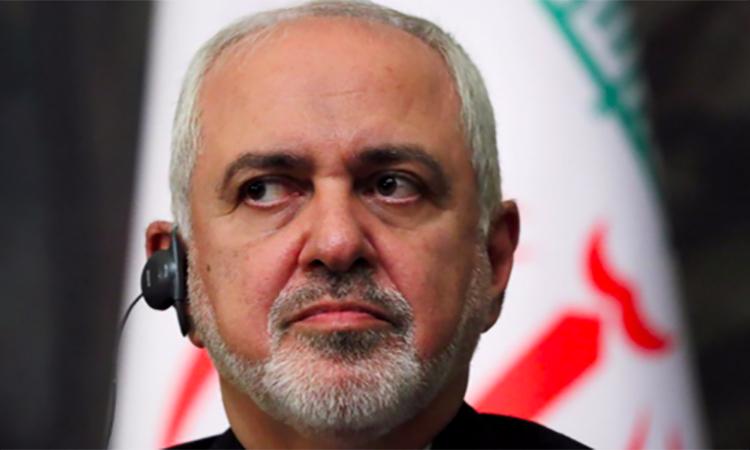 Ngoại trưởng Iran Mohammad Javad Zarif tại một sự kiện ở Moskva, Nga ngày 8/5/2019. Ảnh: Reuters.