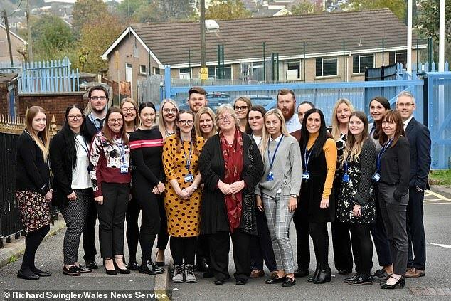 27 cán bộ, giáo viên trường Ysgol Cwm Rhondda đều là cựu học sinh. Ảnh: Richard Swingler/Wales News Service
