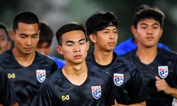 Thái Lan đặt tham vọng giành vé dự Olympic tại giải U23 châu Á 2020. Ảnh: AFC.