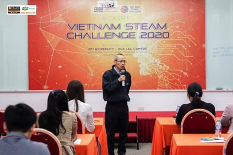 ĐH FPT đồng hành tổ chứccuộc thiVietnam STEAM Challenge 2020 - 1