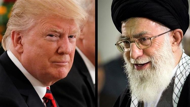 Tổng thống Mỹ Trump (trái) và lãnh đạo tối cao Iran Ayatollah Ali Khamenei. Ảnh: Aljazeera.