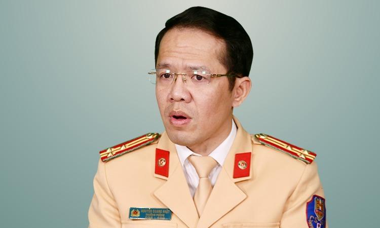 Thượng tá Nguyễn Quang Nhật. Ảnh: Gia Chính