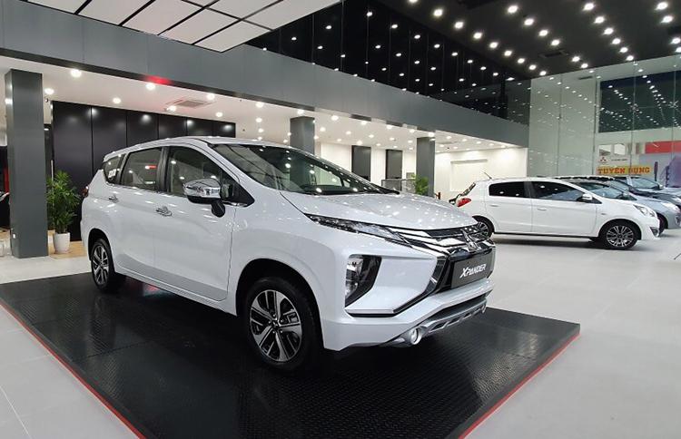 Xpander tại một đại lý của Mitsubishiở Bắc Ninh. Ảnh: Phạm Huyền
