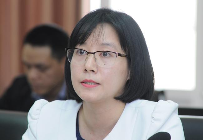 Bà Trần Thị Xuân Hằng. Ảnh: Phương Linh