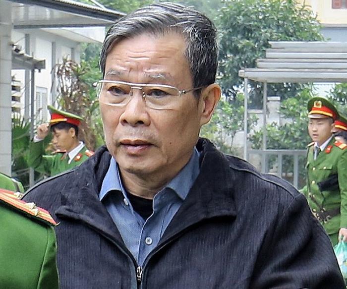?ng Nguy?n B?c Son sau khi nh?n b?n án tù chung than, ngày 28/12/2019. ?nh: Giang Huy.