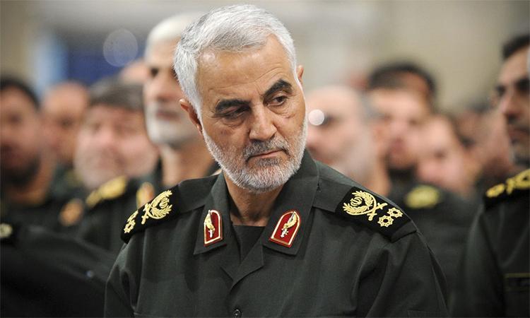 Thiếu tướng Quasse Soleimani trong buổi họp tại Tehran, Iran tháng 9/2016. Ảnh: Anadolu.