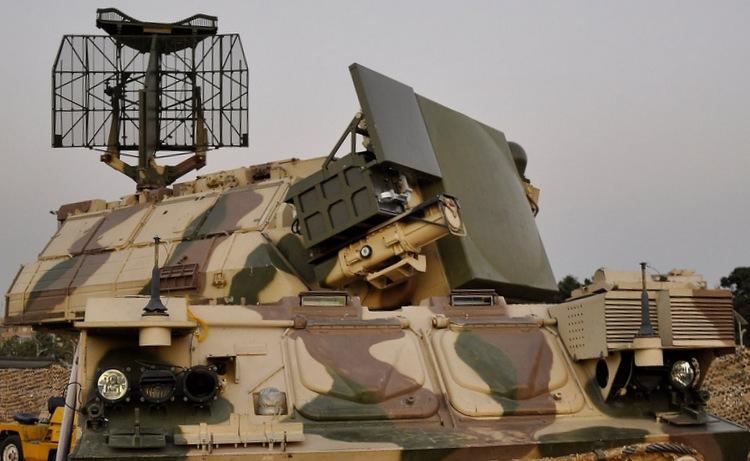 Xe chiến đấu Tor-M1 được Iran nâng cấp hồi năm 2013. Ảnh: ANNA News.