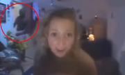 Cô gái bị bắt quả tang ngoại tình khi gọi video