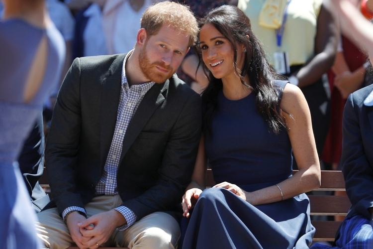 Vợ chồng Hoàng tử Harry tại Sydney, Australia, hồi tháng 10/2018. Ảnh: Reuters.