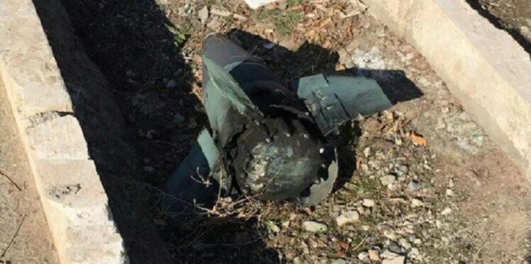Hình ảnh được cho là mảnh vỡ tên lửa tại hiện trường rơi máy bay ở Iran. Ảnh: Twitter/AshkanMonfared.