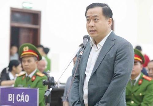 Bị cáo Phan Văn Anh Vũ trong vụ án thứ 4 bị xét xử. Ảnh: TTXVN