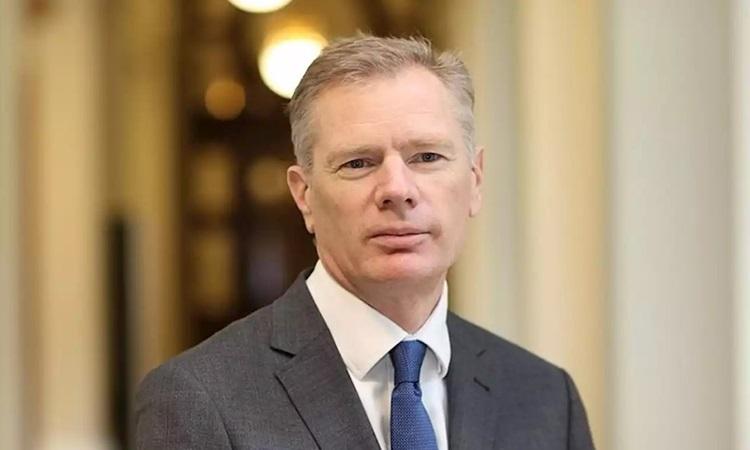 Đại sứ Anh tại Iran Robert Macaire. Ảnh: iNews.