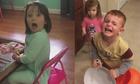 Những đứa trẻ giận dữ vì bị bố mẹ ăn hết kẹo Halloween