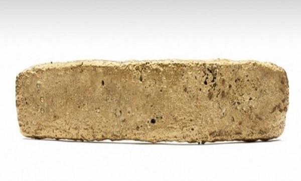 Thỏi vàng được đúc vào thế kỷ 16. Ảnh: Science Alert.