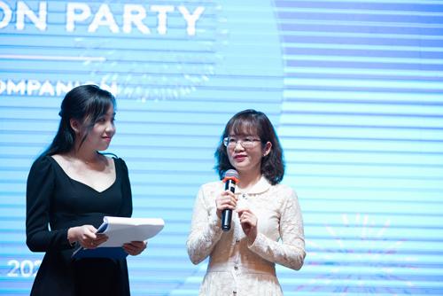 Chị Bùi Khoa Thi, Phụ huynh học viên YOLA.