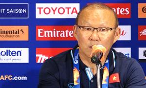 Thầy Park: Cầu thủ thiếu tự tin dứt điểm