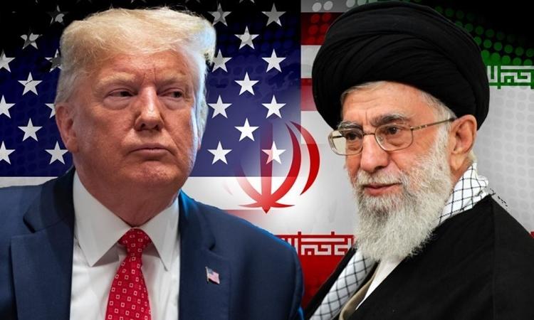 Tổng thống Mỹ Trump và lãnh đạo tối cao Iran Ali Khamenei. Ảnh: Fox.