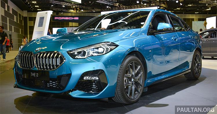 BMW Series 2 Grand Coupe giới thiệu tại Singapore Motor Show 2020.