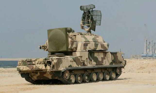 Xe chiến đấu Tor-M1 được Iran công bố năm 2012. Ảnh: IRNA.