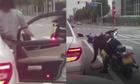 Nữ biker nhặt rác trả lại cho chủ xe sang ý thức kém