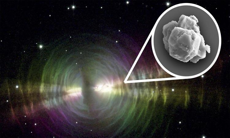 Mẫu bụi sao ra đời trước cả hệ Mặt Trời. Ảnh: Live Science.