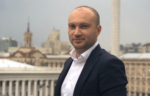 Buzarov tại Kiev. Ảnh: Nhân vật cung cấp.