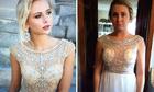 10 thảm họa thời trang khi mua váy dạ hội qua mạng