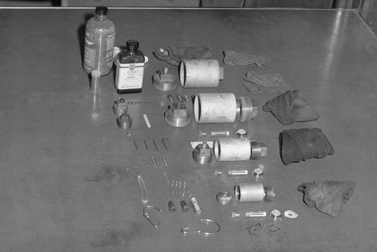 Những quả bom do F.P. chế tạo ngày càng phức tạp và chết người. Ảnh: The New Yorker.
