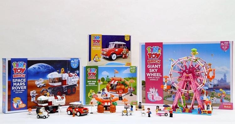 tiNiToy Brick giúp phát huy trí tưởng tượng, óc quan sát và khả năng phân tích cho trẻ.