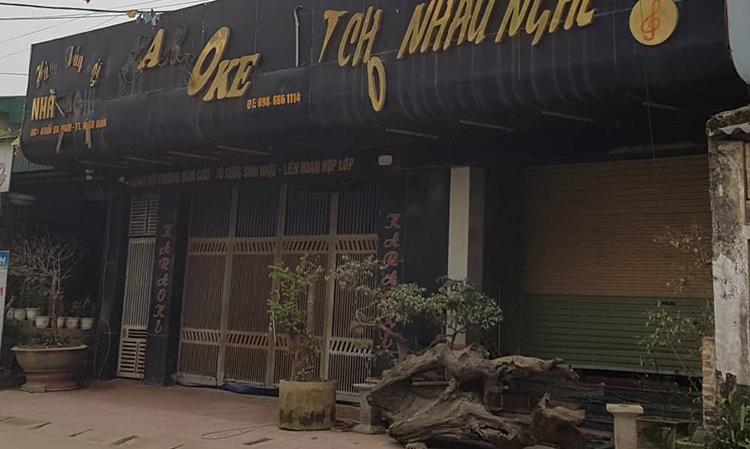 Nhà nghỉ nơi cảnh sát bao vây bắt hơn 100 người.