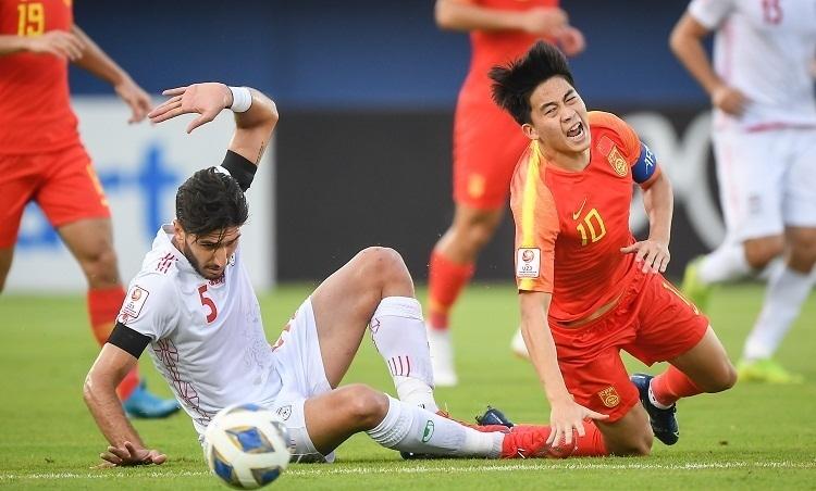 Iran một lần nữa lỡ hẹn với sân chơi Olympic. Ảnh:AFC.