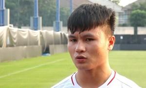 Quang Hải chia sẻ trước trận gặp Triều Tiên
