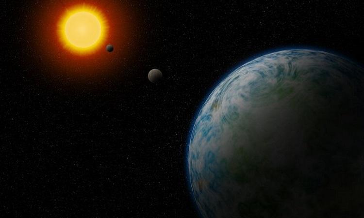 Hai ngoại hành tinh gần Trái Đất có điều kiện phù hợp cho sự sống phát triển. Ảnh: Mirror.