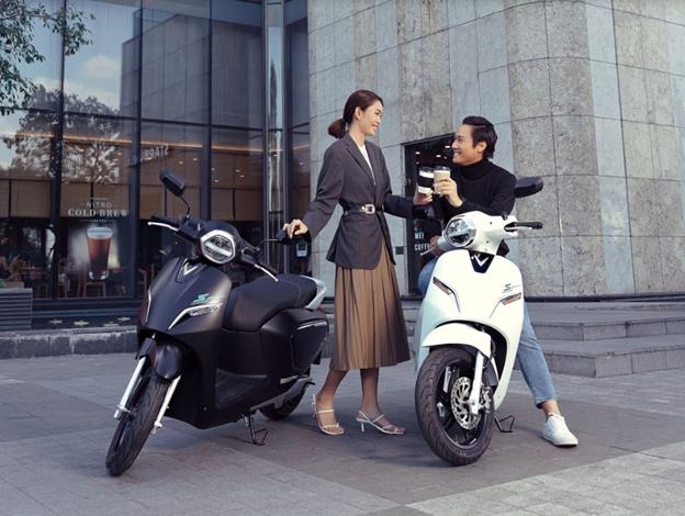 Xe máy điện VinFast Klara S phiên bản nâng cấp.