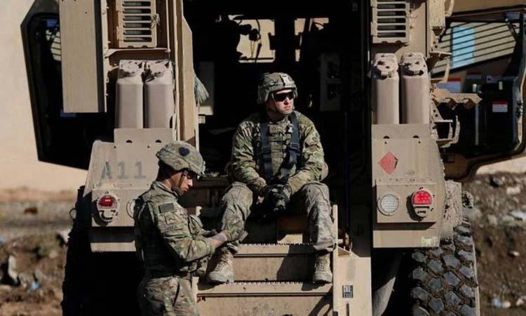 Lính Mỹ tại thị trấn Bartella, phía đông Mosul, Iraq hồi tháng 12/2016. Ảnh: Reuters.