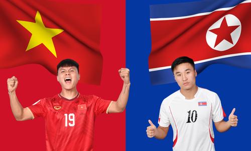 Tương quan trước trận Việt Nam - Triều Tiên Sea Games 2019 - VnExpress
