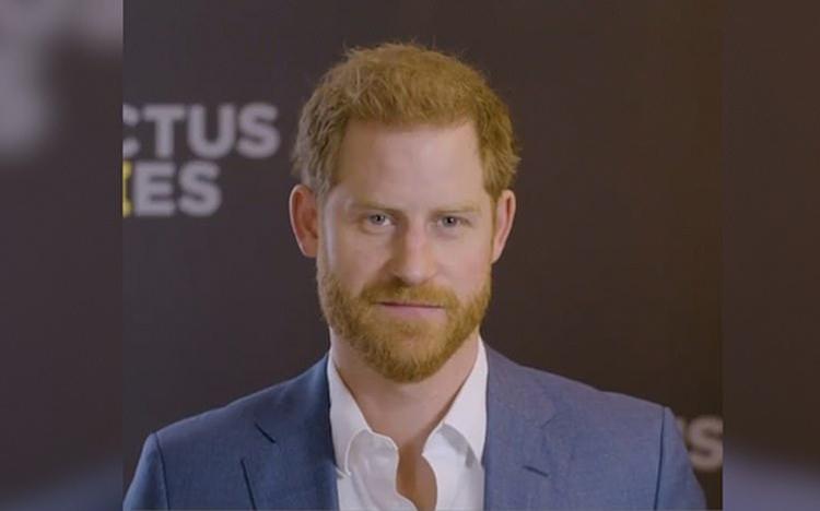 Hoàng tử Harry trong video đăng trên trang Instagram hôm 15/1. Ảnh: Sussex Royal/Instagram
