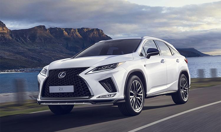 Lexus RX 2020.