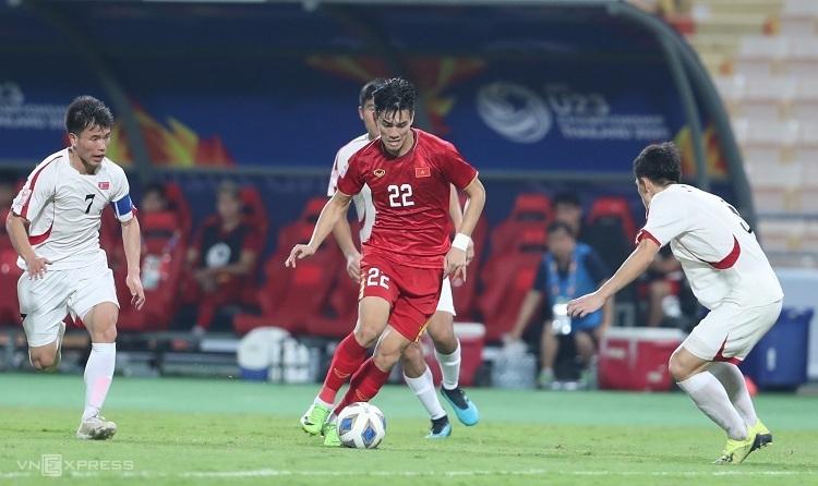 Tiến Linh cho rằng Việt Nam phải hướng tới tương lai sau thất bại tại U23 châu Á. Ảnh: Đức Đồng.