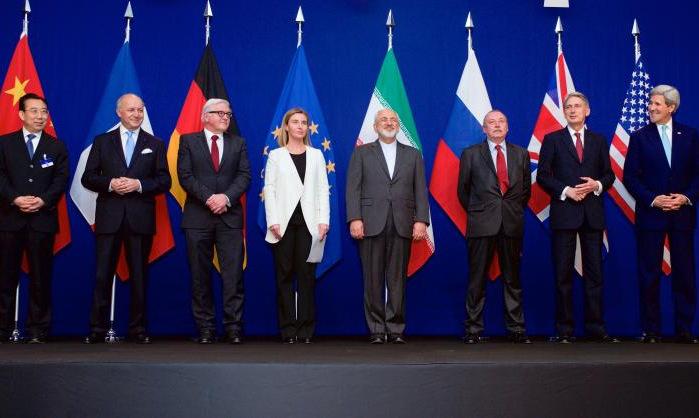 Đại diện các nước tham gia ký JCPOA năm 2015. Ảnh: Wikimedia Commons.