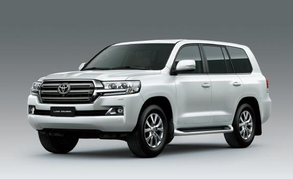 Land Cruiser thế hệ hiện hành. Ảnh: Toyota