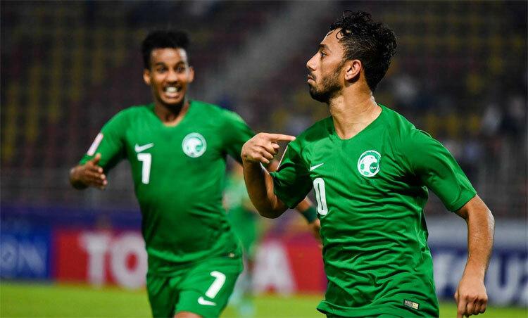 Saudi Arabiacó bảy điểm sau ba trận với Nhật Bản, Qatar và Syrie. Ảnh: AFC