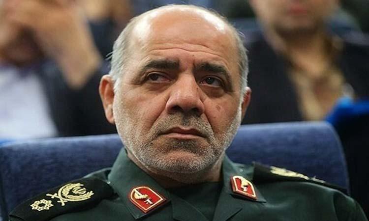 Ali Abdollahi, phó chỉ huy Tổng cục Lực lượng vũ trang Iran về các vấn đề phối hợp. Ảnh: Tehran Times.