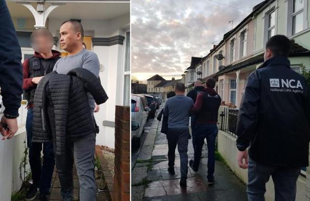 Nguyen Ngoc Khanh bị bắttại thị trấn Bexhill, hạt Đông Sussex