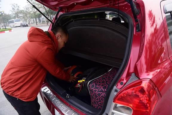 Trên xe chỉ nên mang những trang bị cần thiết.