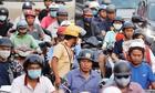 Kẹt xe khắp Sài Gòn